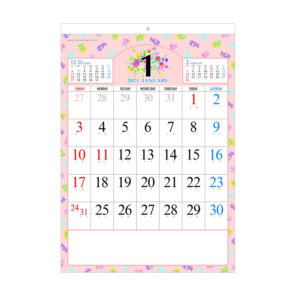 NB431 プチフラワーカレンダー