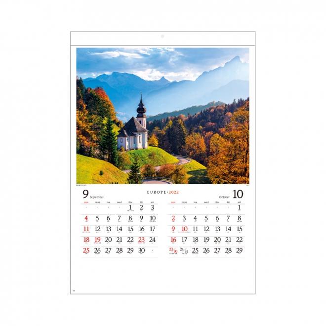 カレンダー NK028 ヨーロッパ