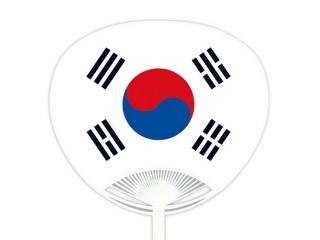 自動貼りポリうちわ・韓国
