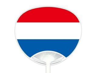 自動貼りポリうちわ・オランダ