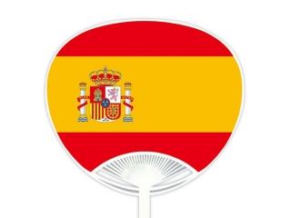 自動貼りポリうちわ・スペイン