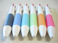 2色ボールペンのカラーバリエーション
