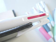 バインダークリップ2色ボールペン