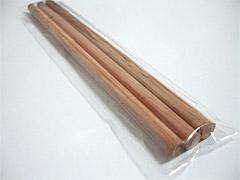 消しゴム付き鉛筆3本セット