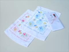 粗品ハンドタオル(花柄タオル)・フラワーギフト
