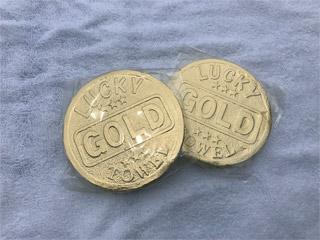 圧縮タオル・コイン