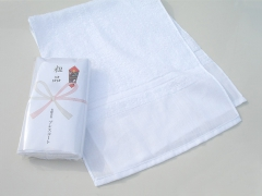 粗品タオル・泉州タオル 白ソフト 日本製