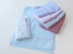 粗品タオル・日本製 ペールカラー