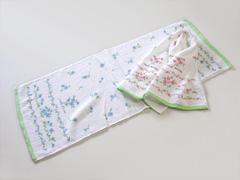 粗品タオル(花柄タオル)・日本製ブロッサム柄