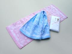 粗品タオル(花柄タオル)・日本製ガーデニング(今治タオル)