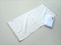 粗品タオル(パターン柄タオル)・日本製エコタオルナンシー(今治タオル)