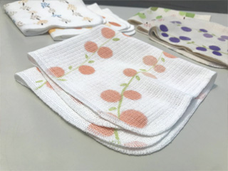 粗品タオル・キッチンクロス ニット織り 日本製