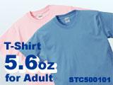 5.6oz Tシャツ