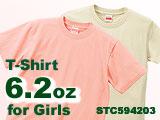 6.2oz Tシャツ